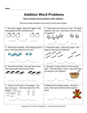 home images addition word problems 1 addition word problems 1 facebook ...