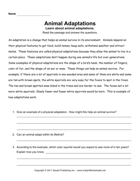 animal worksheet new 981 animal reading worksheet. Black Bedroom Furniture Sets. Home Design Ideas