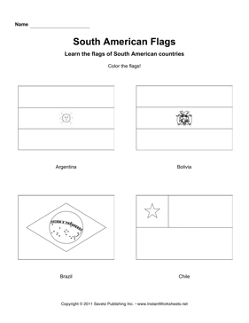 color south american flags 1. Black Bedroom Furniture Sets. Home Design Ideas