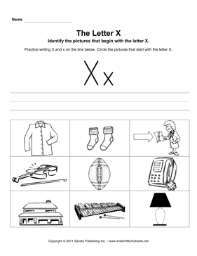 letter x worksheets Quotes