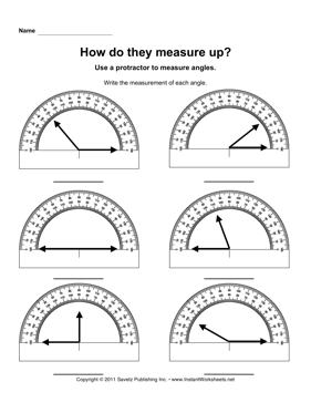 Printables Protractor Worksheets measuring angles with a protractor worksheet plustheapp